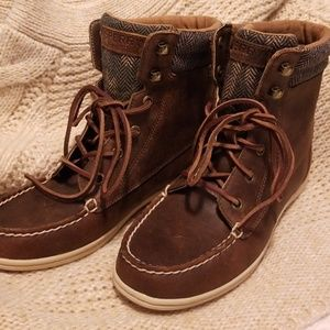 Sperry top-sider shoes, booties
